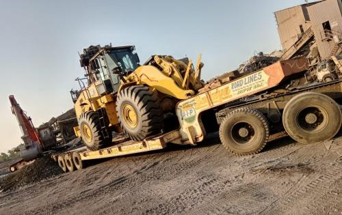 Green Channel Forwarders Deliver Another 4 Wheel Loaders
