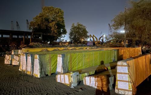 Green Channel Forwarders Deliver 52 Breakbulk Pieces