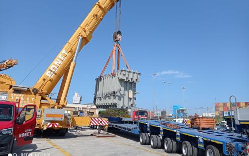 Livo Logistics with 115tn Transformer from Italy to Spain