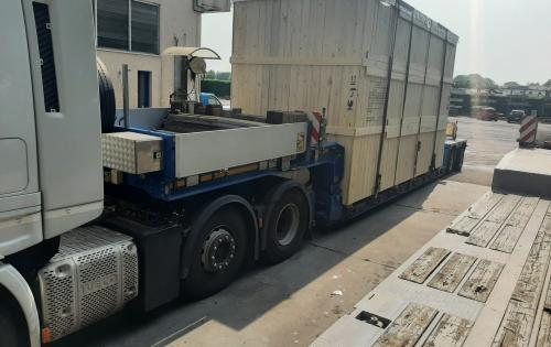 Livo Logistics Report Heat Exchangers from Italy to China