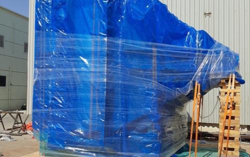 Wilhelmsen UAE Handle Static Shipments via RORO