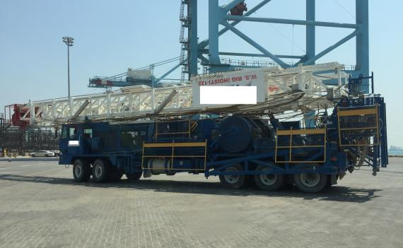 Wilhelmsen Complete Movement of Mobile Drilling Unit from