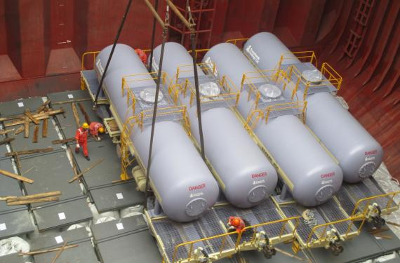 Global Star Logistics Ship 90 Rail Tank Wagons from China to Namibia