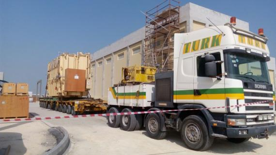 Turk Heavy Transport Handle 11 Transformers for Hyundai Heavy Industries