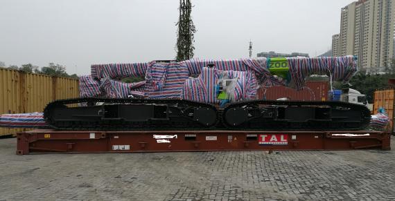 OLA Logistics Arrange Shipping of Oversized Rotary Drilling Cargo