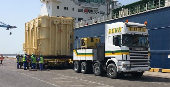 Turk Heavy Transport Handle 8 Transformers as Part of Ongoing Project