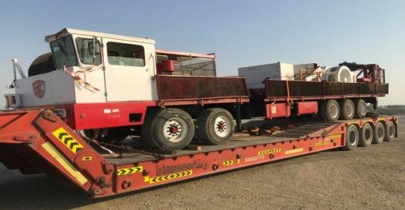Khimji Ramdas Deliver Rig & Accessories in Oman