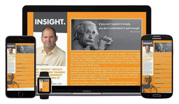 New Series of Articles called 'Insights' in PCN Digital Newsletter