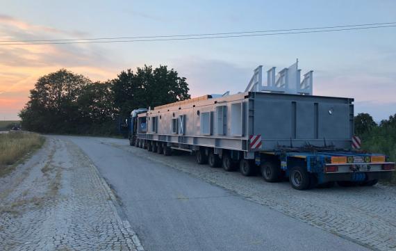 GRUBER Complete Transport of Cooler