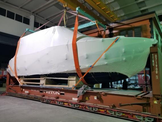 BATI Group Continue their Passion of Shipping Yachts & Boats!