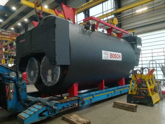 BATI Group Successfully Ship 52tn Boiler