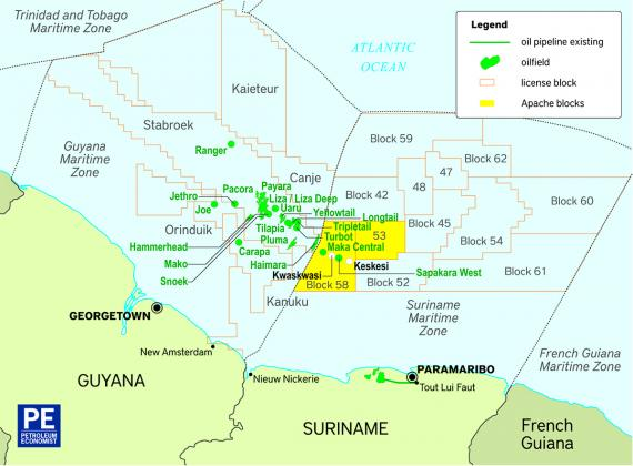 Ramps Secures Cross Border Logistics Project for Suriname Exploration Well