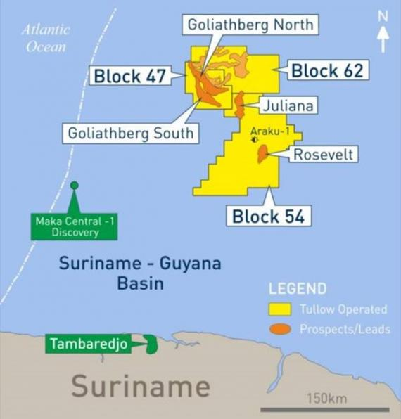Ramps Awarded Integrated Logistics Contract by Tullow for Suriname Well