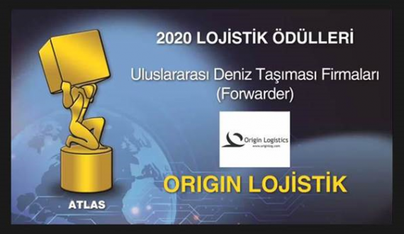 Origin Logistics Win at Turkey's Atlas Logistics Awards 2020
