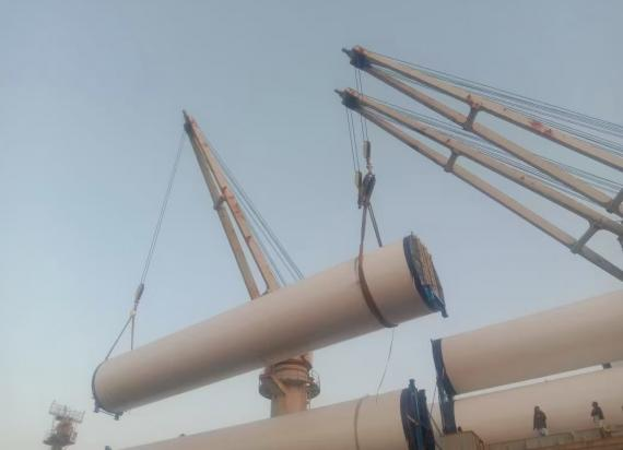 Star Shipping Busy with Windmill Project at Port Qasim