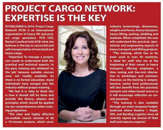 PCN Featured in an Oversize & Heavylift Special in ACW