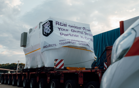 R&B Global Projects Deliver OOG Units