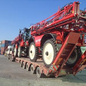 MTS Logistics Transport Agricultural Machinery from Belgium to Turkey