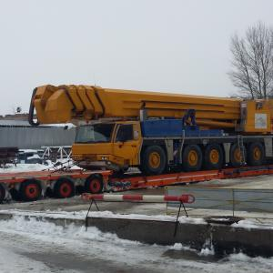 Freightbook Agents Transport Cherry Picker from Chernobyl to Germany