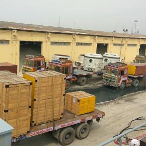 LCL Logistix with Breakbulk Shipment from Chennai to Dakar