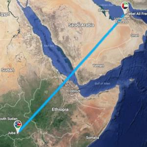 Darka Offer Unique LCL Services from Jebel Ali Port to Juba, South Sudan