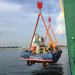 Project Shipping with Workboat Shipment from Singapore to Australia