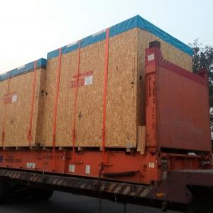 LCL Logistix & Fortune International Work Together to Move Machinery from Italy to India