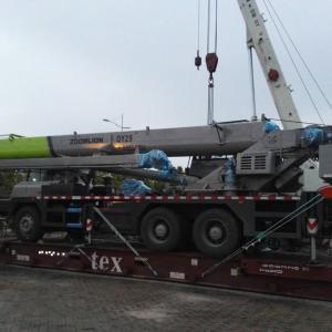 OLA Logistics Handle Oversized Transport of Truck Cranes