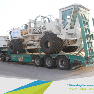 Al Nahrain Transport 22 Heavy Vehicles from Jordan to Iraq