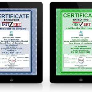 Renewal of PCN ISO 9001 and ISO 14001 Certification