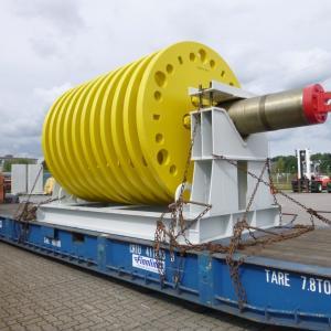Fortune & Gebrüder Weiss Transport 60tn Rotor