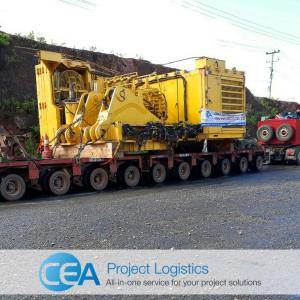CEA with Mining Equipment Transportation to Laos