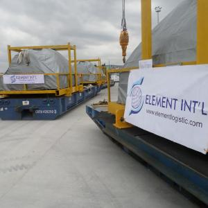 Element Handle 198tns of Machinery Parts with GRUBER