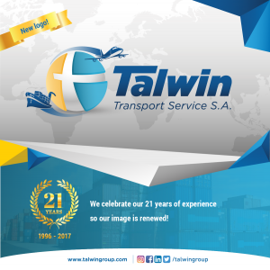 Talwin Celebrate 21 Years with Revamped Logo!