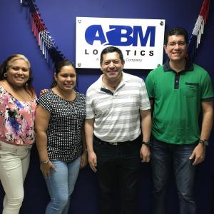 L&L International de Colombia Visit ABM Logistics in Panama