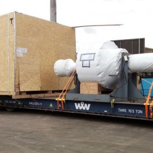 DC Logistics Brasil Ships Machinery to Hawaii