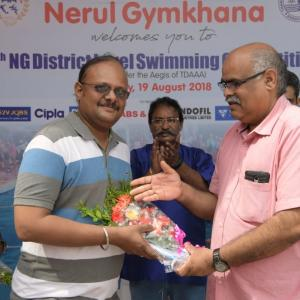 V-Care Sponsor Swimming Event to Encourage Youth