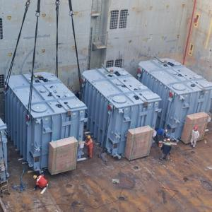 Star Shipping Handle Transport of 4 Heavy Transformers