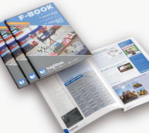 Issue 12 of Freightbook's Digital Newsletter F-BOOK Available Now