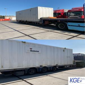 KGE Baltic Smoothly Deliver Two Cabins