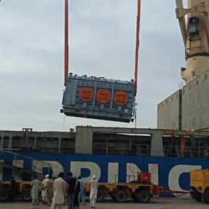 Star Shipping with Discharging Operations for 8 Transformers
